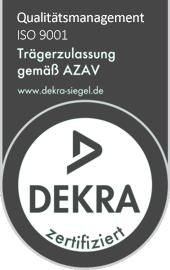 DEKRA und ISO Zertifikat